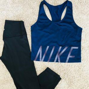 Nike Crop Top tank.